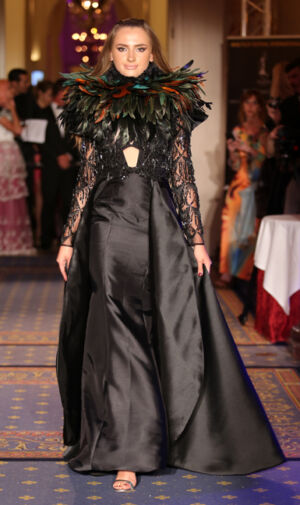 Tuyet Le fashion show during the Global Short Film Awards gala held at the Intercontinental Carlton Cannes in Cannes, France.