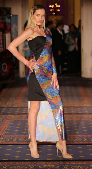 Waletty fashion show at the Global Short Film Awards Gala held at the Intercontinental Carlton Cannes, Cannes, France.